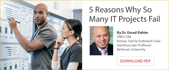 5 Reasons Why So Many IT Projects Fail